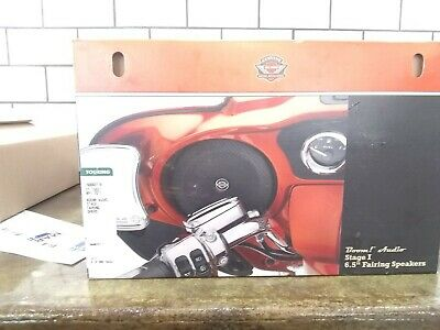 Harley Davidson Boom Audio 6.5 Inch Fairing Speakers Part#76000317A 2014 and Up