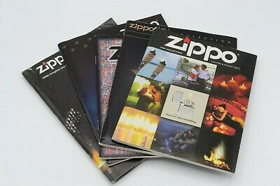Collectible Zippo Product Catalogs (2000, 2001, 2002, 2003, 2006)