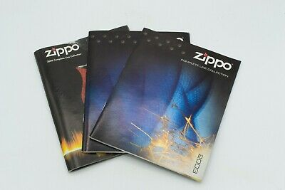 Collectible Zippo Product Catalogs (2 of 2003 and 1 of 2006)