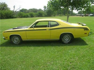 1970 plymouth Duster  1970 plymouth duster  0 Miles yellow  360 Automatic