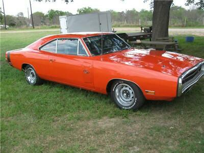 1970 Dodge Charger  1970 Dodge Charger RT  0 Miles orange  440