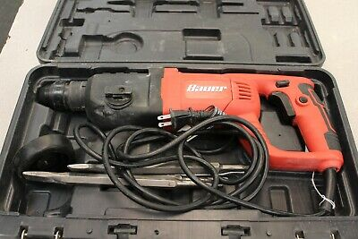 BAUER 1 In. SDS ProType Variable Speed Pro Rotary Hammer Kit