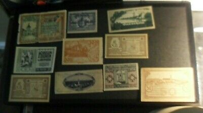 66 Austria notgeld paper currency from 1920 - all different