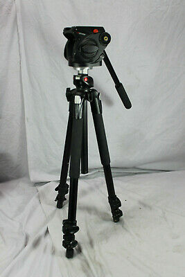 Manfrotto 190XPROB w Manfrotto 501HDV Fluid Head - Tripod
