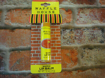 Waffle HOuse waffle lip balm NEW in package fun