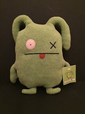 "New Pretty Ugly Ugly Doll Uglydoll 14"" Rare Original Ox"