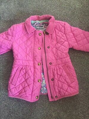 Girls Joules Jacket Age 3 Yrs Old