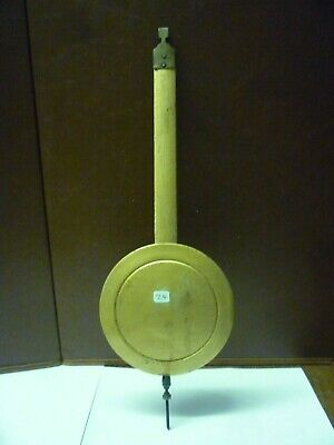 Original Antique Art Deco Wall Clock Pendulum (z4)
