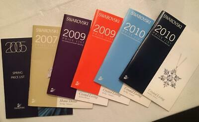 SWAROVSKI CRYSTAL Collector Items Rare Resource Retailers Price Lists 2005-2010