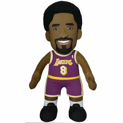 """Los Angeles Lakers Kobe Bryant 10"""" Plush Figure - A Legend for Play or Display"""