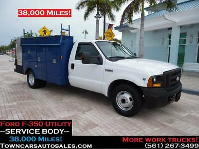 2006 Ford F-350 F350 Utility SERVICE TRUCK 38,000 Miles Ford F350 Welder Mechanics Truck SERVICE UTILITY BODY Service Truck