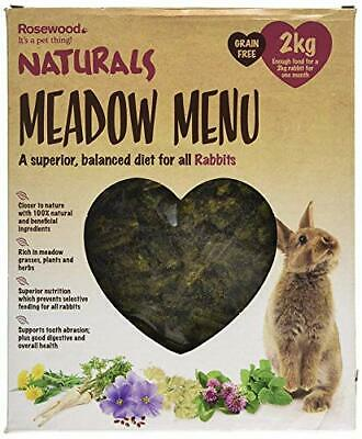 Rosewood Naturals Meadow Menu Rabbit Food, 2 kg 2