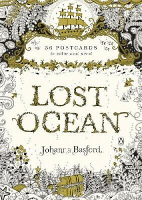 Lost Ocean: 36 Postcards to Colour and Send by Basford, Johanna.
