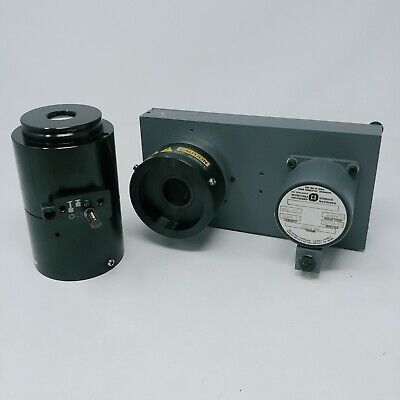 Olympus Microscope Confocal Part And Filter Wheel American Precision 23E-6102A