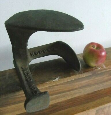 Cobbler Door Stop Iron Shoe  Boot Jacko Cannon 2685 Repair Tool Art Feet Foot
