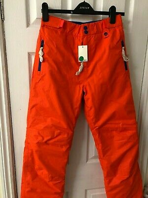 New Boden Girls All-Weather Waterproof Ski Trouser - Techno Orange - 15-16Y