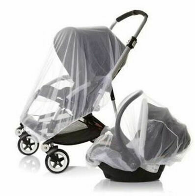 Drawstring net Cover for Mosquitos & Insects Perfect for Baby Stroller Car seat