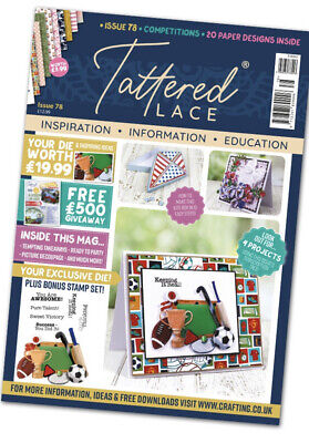Tattered Lace Magazine Issue 78 -Brand New & Sealed.