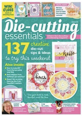 Die Cutting Essentials Magazine Issue 65. New & Sealed.