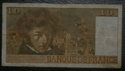 France - 10 - Dix Francs - 4 - 4 - 1974 - . F. L. 37 - Hector Berlioz - French