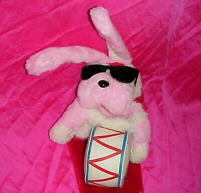 Vintage Energizer Bunny Plush Figure Masot Doll Christmas Stocking