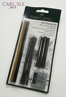 Faber-Castell Pitt Charcoal Set Of 10
