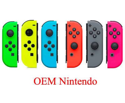 Nintendo Switch OEM Original Joy Con Controller Left Right Blue Red Grey Green
