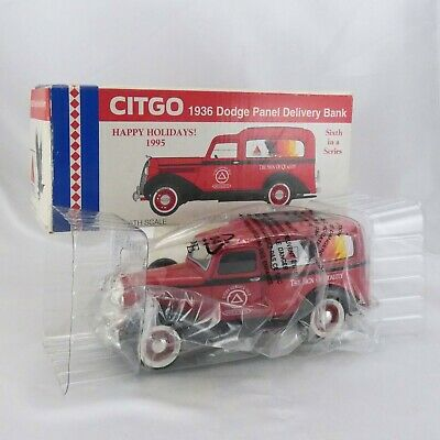 CITGO Die Cast Truck 1936 Dodge Panel Delivery Bank 1/25 Scale Limited Edition
