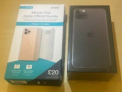 Apple iPhone 11 Pro Max - 256GB - Space Grey (EE) + Apple Official Bundle.Sealed