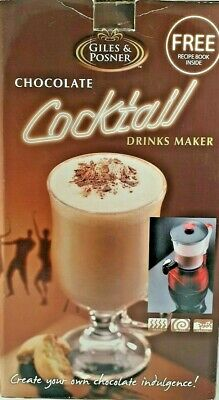 Giles & Posner Hot & Cold Chocolate Cocktail Drinks Maker, brand new and unused