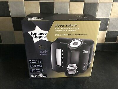 Tommee Tippee Closer to Nature Perfect Prep Machine - Black Brand New Boxed