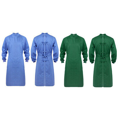 Reusable Surgical Gown Medical Isolation Protective Lab Gowns Coats Surgeon Work