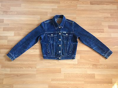 Lovely Girl's Pepe Jeans London Blue Denim Jean Jacket - Size M
