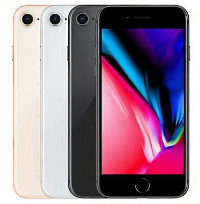 Apple iPhone 8 64 GB Unlocked Handsets Various Grades and Colours