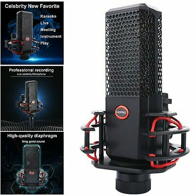 240Pro Condenser Microphone Audio Studio Recording Broadcasting Kit for PC Mac