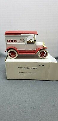Vintage RCA metal truck dicast coin bank