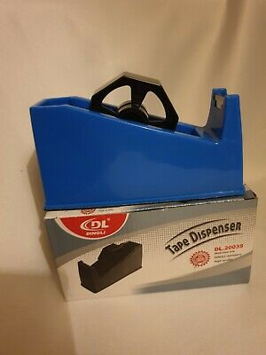 Heavy Duty Tape Dispenser In Bright Blue  Colour, Office~Home~School~None Slip