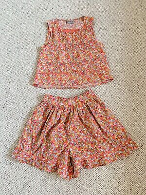 Next Girl Summer Top And Shorts Outfit Set Age 8
