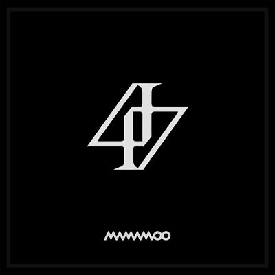 [in Ver.+Poster]MAMAMOO 2nd Album Reality in Black HIP Kpop+Photobook+Lyric Card