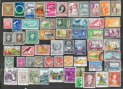 Worldwide Used/Mint Stamps & Pictorials With 2 1977 Lindbergh Covers Y10