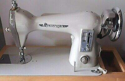 GAMAGES > ELECTRIC SEWING MACHINE - 1960/70 ! 220/250 V 90 Watt - WORKING WELL