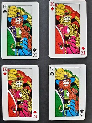 playing cards vintage - japanese
