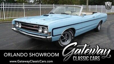 1969 Ford Torino GT Blue 1969 Ford Torino Convertible 390 CID V8 3 Speed Automatic Available Now!