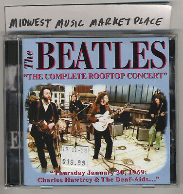 The Beatles - The Complete Rooftop Concert CD - Rare OOP Import CD - MINT Sealed