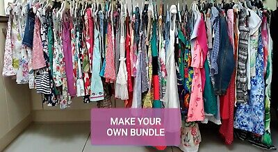 Girls 3/4 Years Summer Clothes Make Your Own Bundle All Mixed Brands