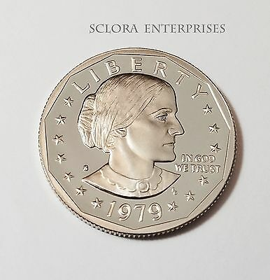 1979 S Susan B. Anthony (Sba) *Proof* Dollar Coin  *Type 1*  **Free Shipping**