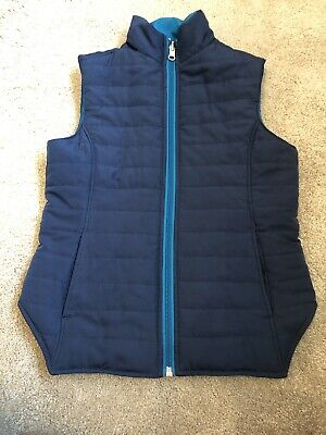 Girls Reversible Gilet/Body Warmer - Age 7-8 Years