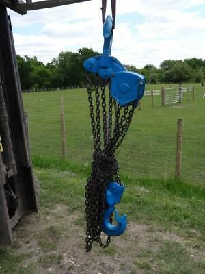 Nitchi 10 Ton Manual Chain Hoist 3m Height of Lift