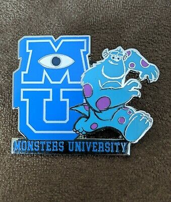 Disney Store Monsters University Oozma Kappa Fraternity Logo Pin Sulley Mike For Sale Picclick