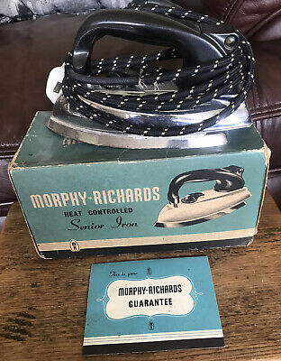 VINTAGE Morphy Richards DRY IRON CA75 Heavy Collectable Retro.